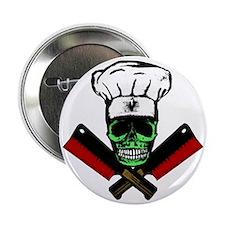 """Chef_Skull_HCC2 2.25"""" Button"""