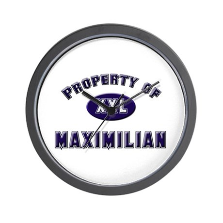 Property of maximilian Wall Clock