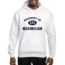 Property of maximilian Hoodie