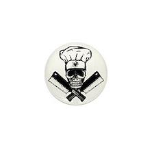 Chef_Skull_HCBW Mini Button