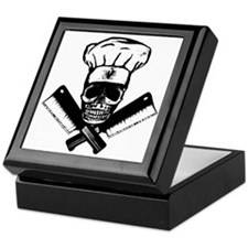 Chef_Skull_HCBW Keepsake Box