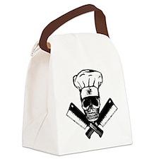 Chef_Skull_HCBW Canvas Lunch Bag