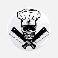 """Chef_Skull_HCBW 3.5"""" Button"""