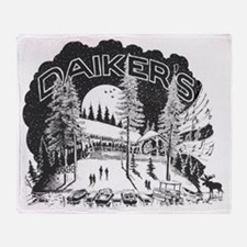 Daikers_Logo_15x13 Throw Blanket