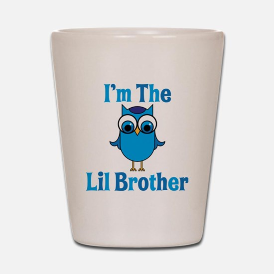 Little Brother Owl Shot Glass