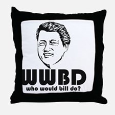 cp politics390 Throw Pillow