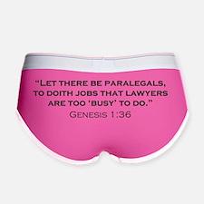 Paralegal_Genesis_21x14 Women's Boy Brief