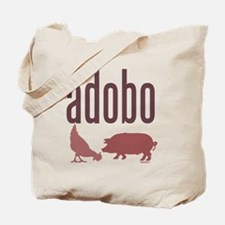 adobo3brown_CPDark Tote Bag