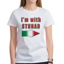 Italian I'm with Stunad Tee
