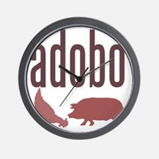 adobo3brown_CPDark Wall Clock