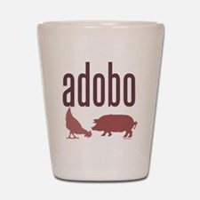 adobo3brown_CPDark Shot Glass