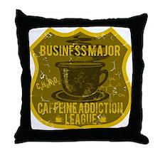 BUSINESS MAJOR Throw Pillow