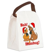 bah-humbug Canvas Lunch Bag