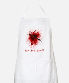 How about a nice shave Apron