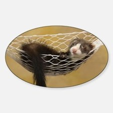 Lounging Ferret Decal