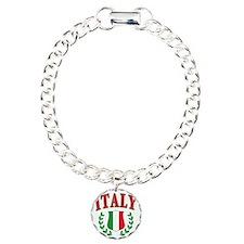 Italian Pride Charm Bracelet, One Charm