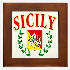 sicily Framed Tile