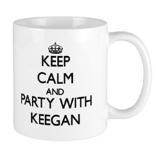Keep Calm and Party with Keegan Mugs