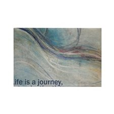 PSTR-journey3 copy Rectangle Magnet