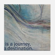 PSTR-journey3 copy Tile Coaster