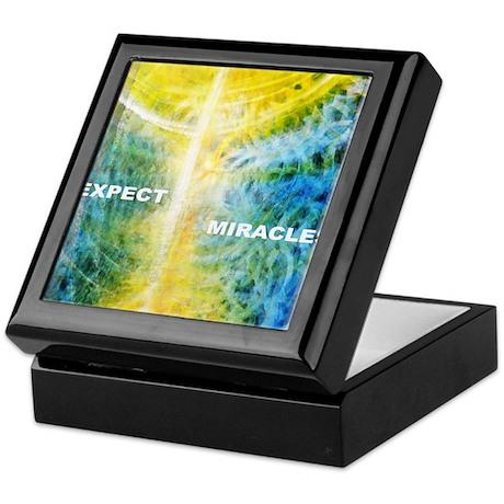 PSTR-expect miracles2 Keepsake Box