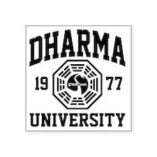 """Dharma U Square Sticker 3"""" x 3"""""""