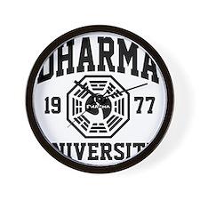 Dharma U Wall Clock
