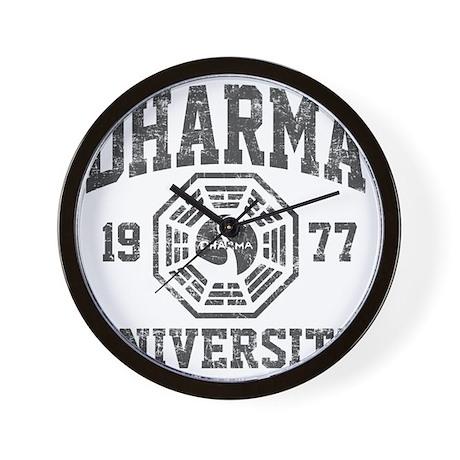 Dharma Univ Wall Clock