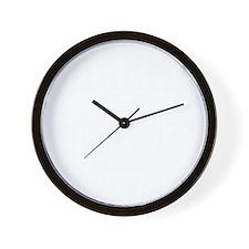 Dharma Univ -dk Wall Clock