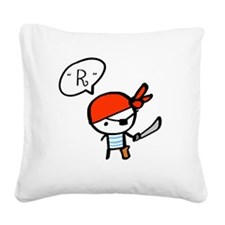 pirate_0117f Square Canvas Pillow
