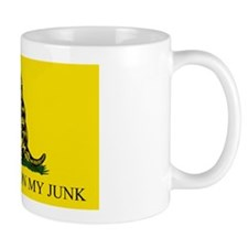 Gadsden Flag -  DONT TREAD ON MY JUNK # Mug