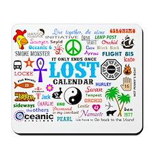 Print Calendar Mousepad