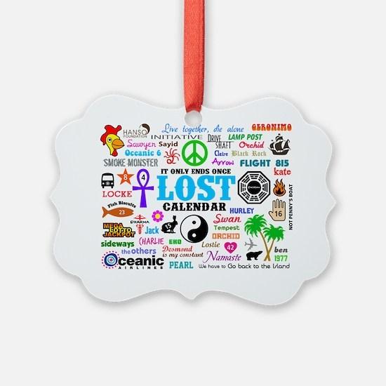Print Calendar Ornament