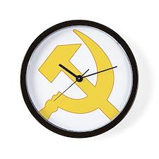 Communist_Shirt Wall Clock