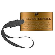 enterpriseplaque04 Luggage Tag