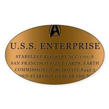 enterpriseplaque04 Decal