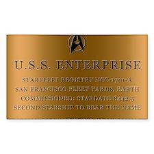 enterpriseplaque05 Decal