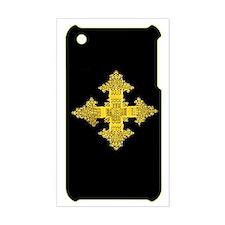 ethiopia cross i-phone 3g hard Stickers