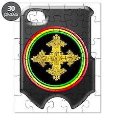 rasta ethiopia cross i phone 4 slider case Puzzle