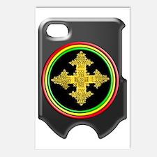 rasta ethiopia cross i ph Postcards (Package of 8)