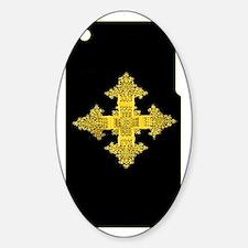 ethiopia cross i-phone 3g hard case Decal