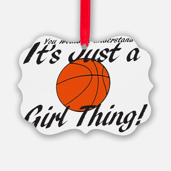basketball Girl Thing Ornament