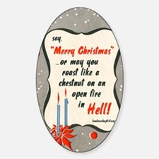 saymerrychristmas Decal