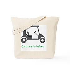Golf_Carts_Green Tote Bag