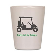 Golf_Carts_Green Shot Glass