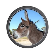 Miniature Donkey Wall Clock