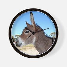 Miniature Donkey Wall Clock