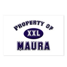 Property of maura Postcards (Package of 8)