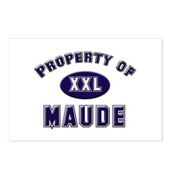 Property of maude Postcards (Package of 8)