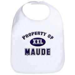 Property of maude Bib